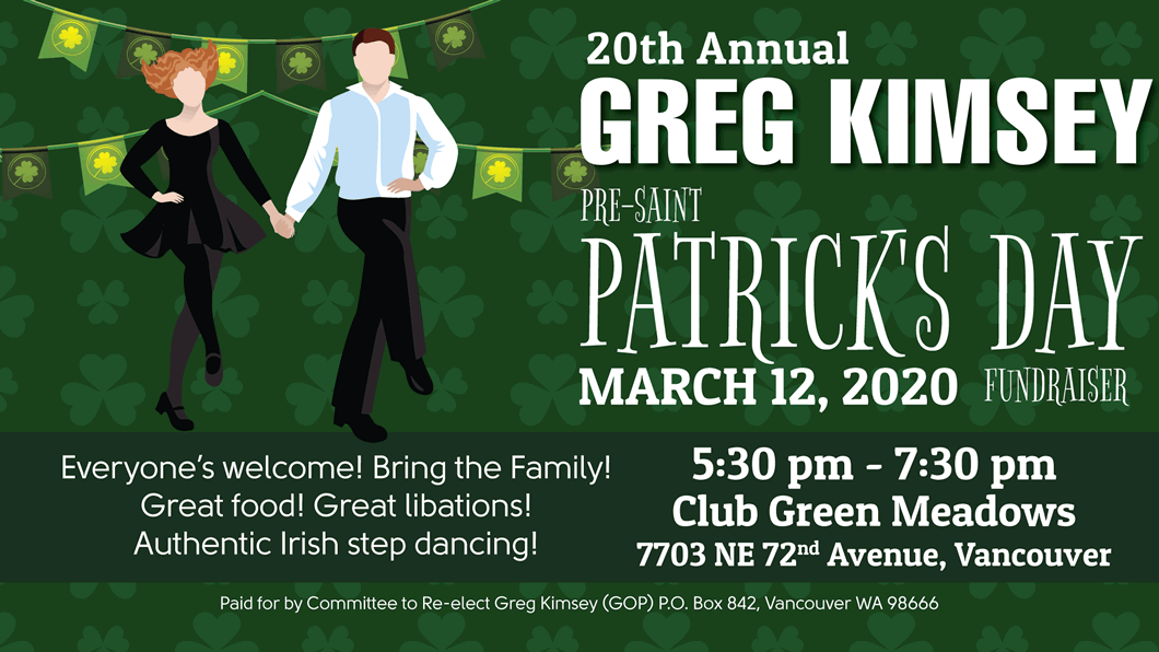 Pre-St Paddy's Day Fundraiser